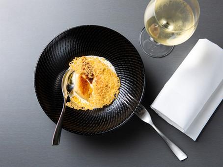 E'cco Bistro's Potato Gnocchi with Gorgonzola, Spinach & Pine Nuts