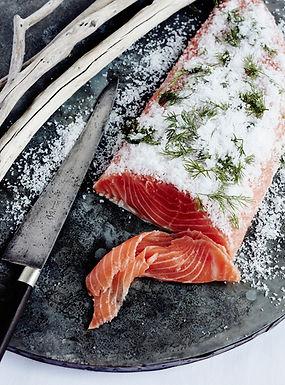 Salmon Gravadlax