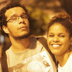 Bruna Tavares e William Tenório