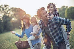 samenwonen, gezin met kinderen, samenleven, familie