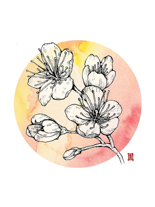 """A5 Print """"Cherry Blossom"""""""