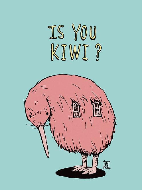 """A6 Postcard """"Is You Kiwi?"""""""