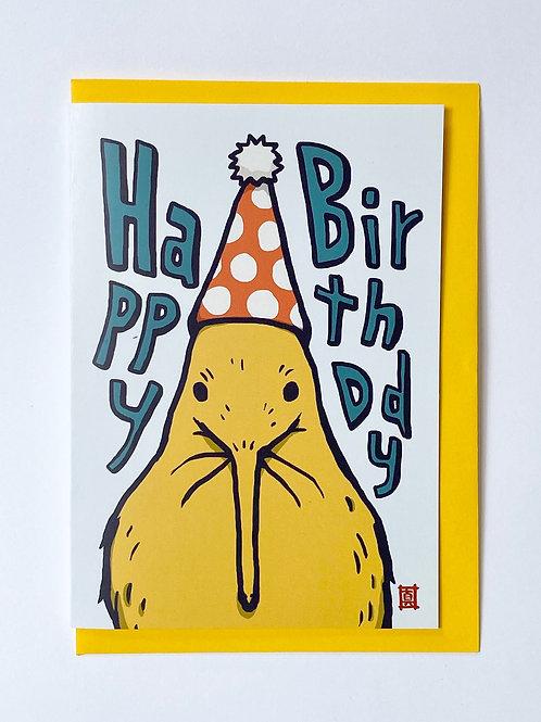 "Greeting Card ""Kiwi Birthday"""