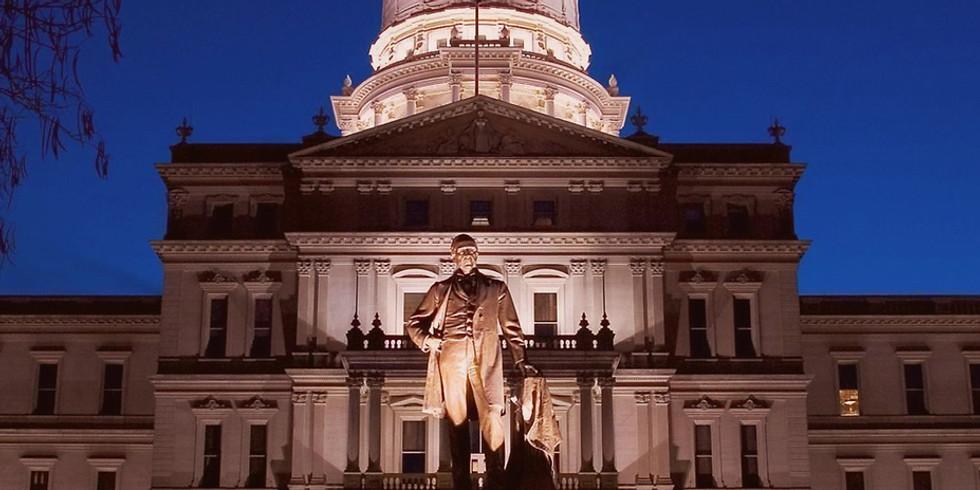 Michigan for Vaccine Choice Legislative Day in Lansing (Ingham County)