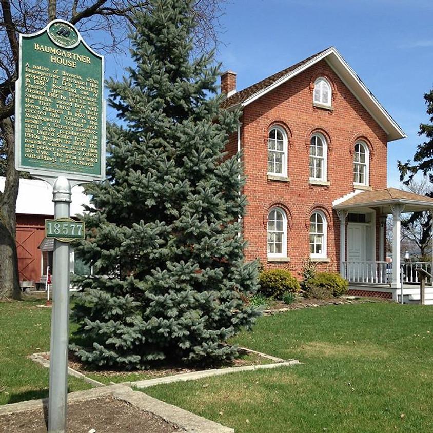 1875 Baumgartner House Tour & Tea Room (via Coach Bus)