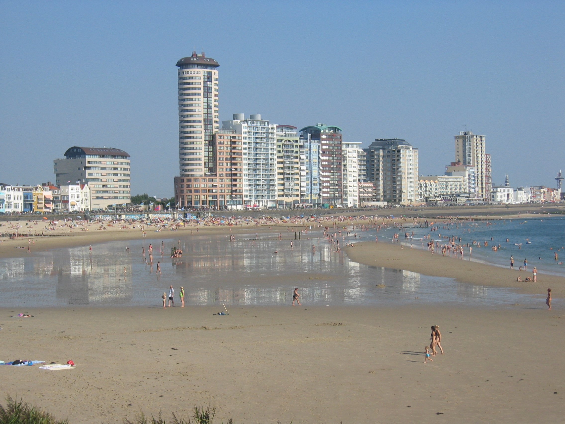 Vlissingen beach