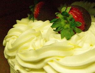 Nancy's, Signature, Torte, Cake, Whippd Cream, Strawberries, Chocolate, Chocolte Covered Strawberries, NMVC, Nancy's Marshview Cafe, Bakery