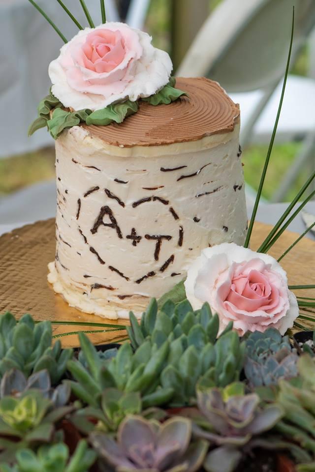Shaw Wedding 2018 Cutting Cake