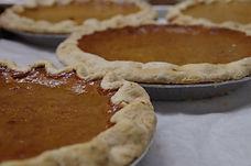 Pumpkin Pie popular holiday item from our scratch bakery nancy's award winning fan favorite vote
