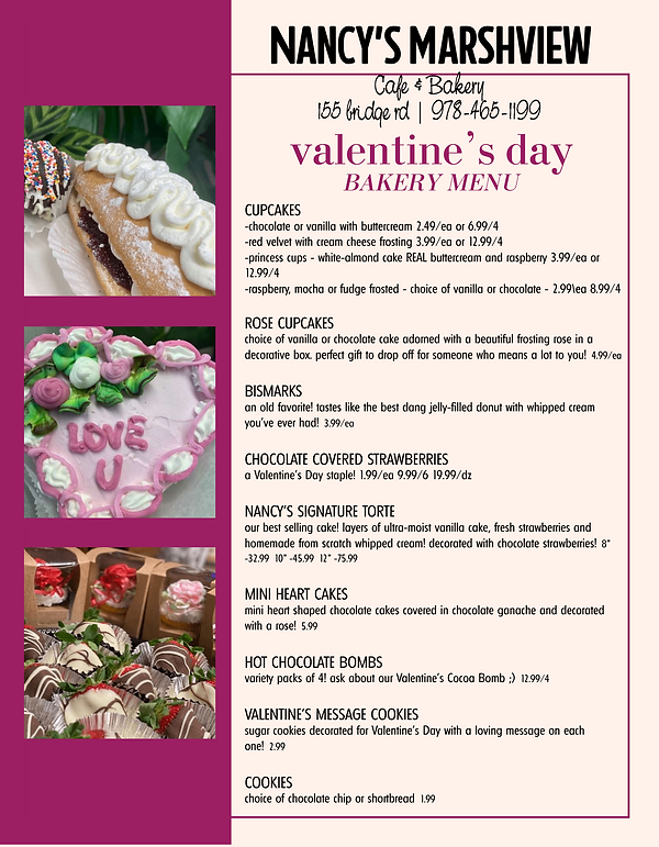 Romantic Valentine's Day Specials Menu_b