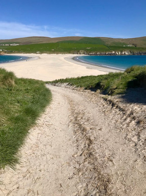 St Ninians beach
