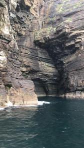 Cliffs around Bressay
