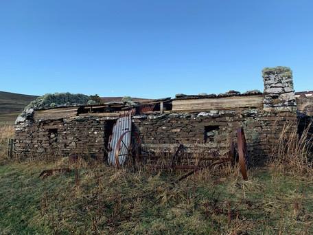 Derelict Croft House Fladdabister