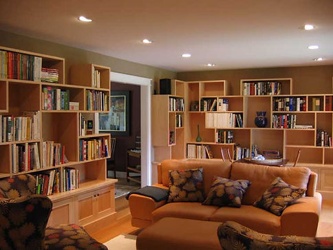 custom cabinetry library