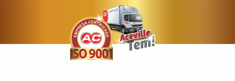 Campanha ISO 9001 Aceville Transportes s