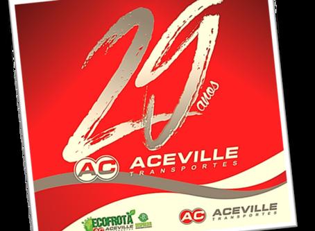 Setembro 29 anos de Aceville Transportes