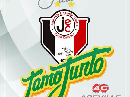 Aceville Transportes nova apoiadora do Futsal de Joinville