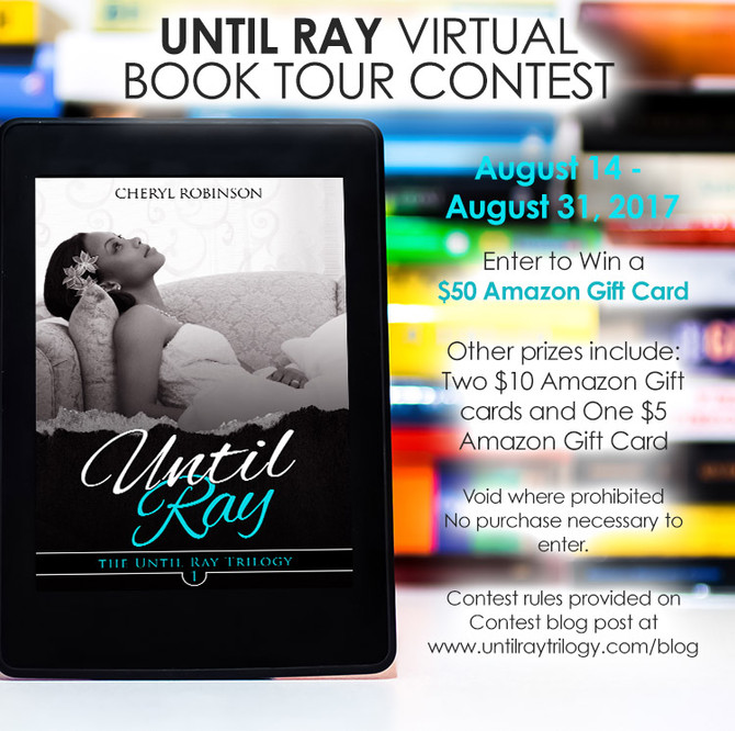 Until Ray Virtual Book Tour Contest 8/14-8/31