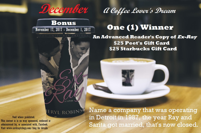 December Bonus Giveaway