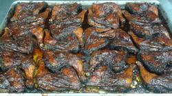 jerk chicken tray