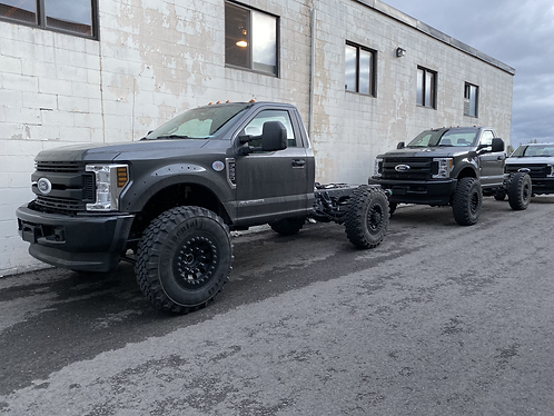 2020 Ford F550 Severe Heavy Duty modified chassis.