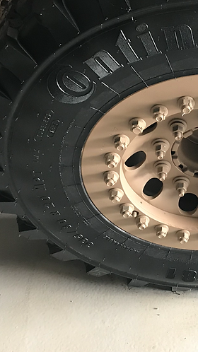 HORSTMAN 20x10 wheel assembly