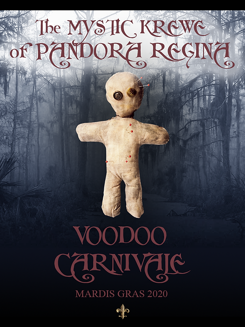 Ticket to Voodoo Carnivale: Sat, 2-29-20