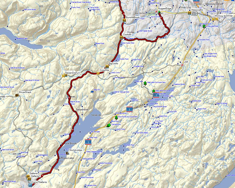 Lundrigan Drive to Gallants & Mount Moriah