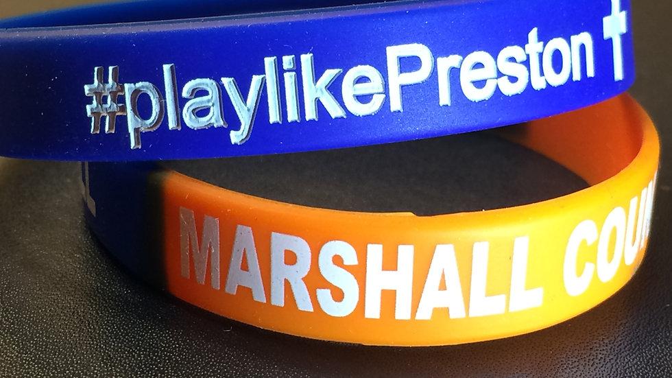 #playlikePreston Bracelet