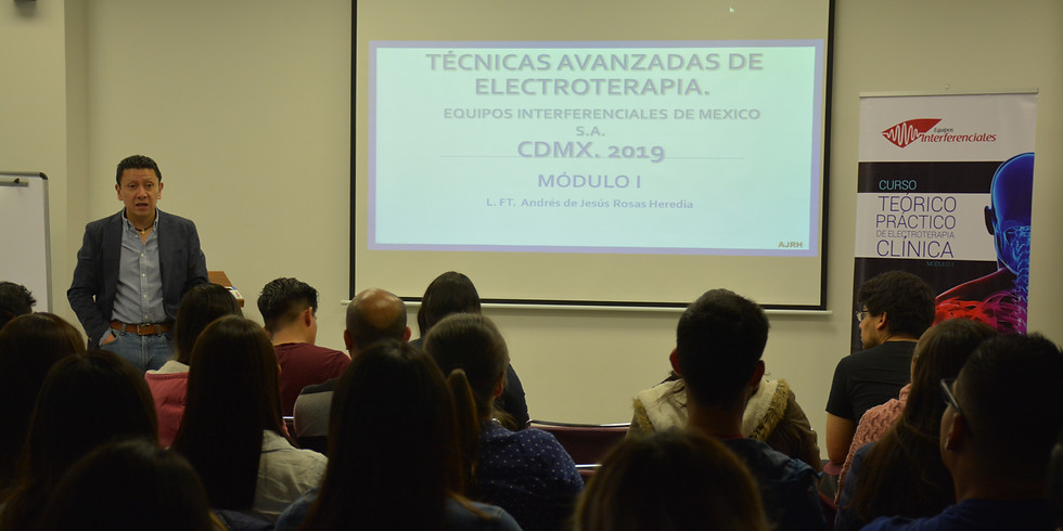 Técnicas avanzadas en electroterapia Módulo I