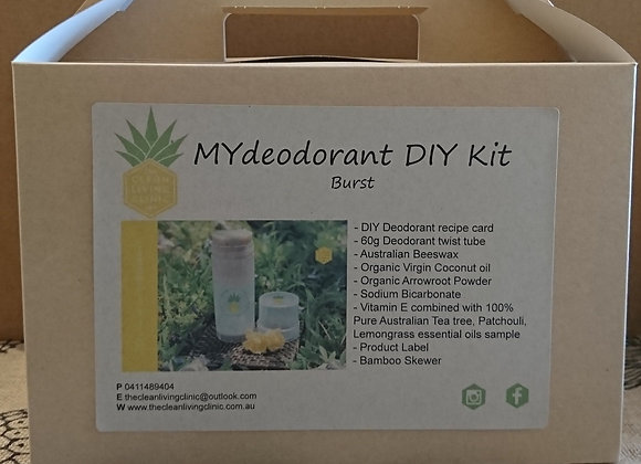 DIY DEODORANT kit
