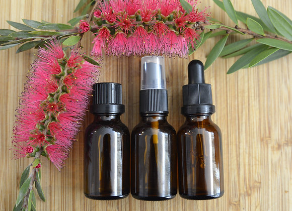 15ml amber glass with dripolator Essential Oil bottle