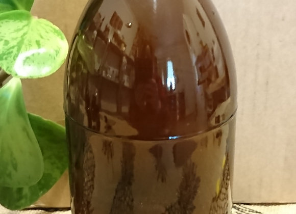 1000 mL AMBER Glass Bottle