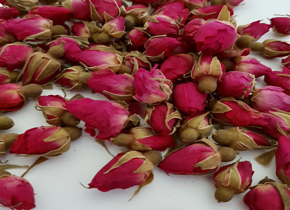 Red Rose Buds botanicals