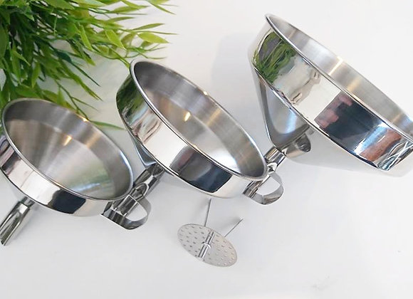 Stainless Steel Funnel - Large