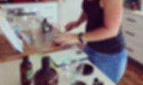 Myleigh offers personal 2 hourDIY support  in your ownhome to suit YOUR choice of  chemical free lifestyle MYrecipes.    During your personal MYclinicMyleigh will  guide and support you as YOU make all YOUR  chosenDIYMYrecipe chemical free products.