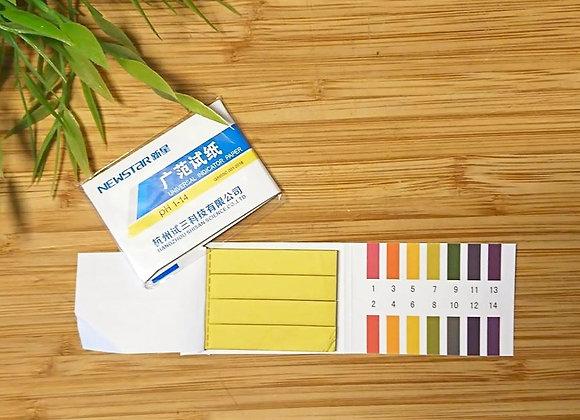 1/80pcs PH Paper test Acidic/Alkaline indicator strips