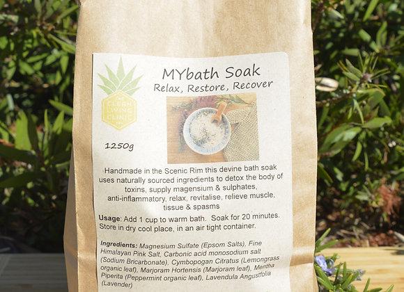 MYbath Soak - Relax, Restore, Recover 1250g