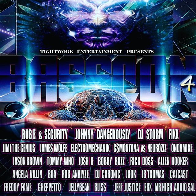 Make sure to get tickets 🎫 for BassCon4