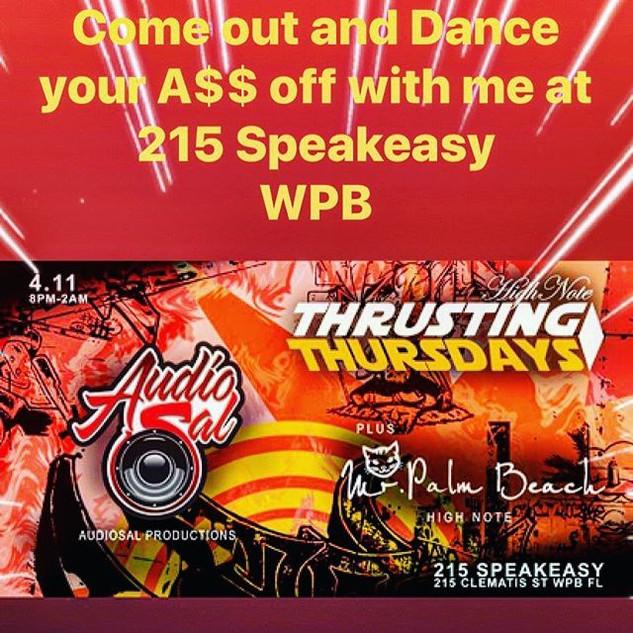 APRIL 11 I'm back in West Palm at 215 Sp