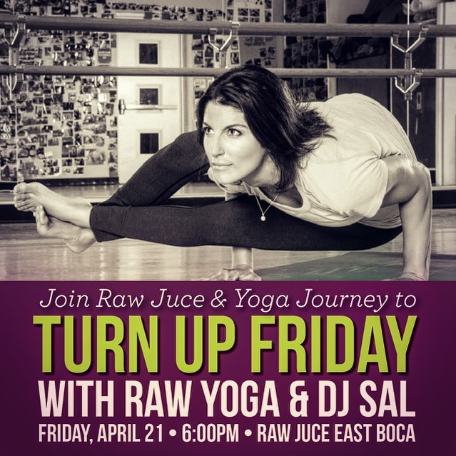 It's time to Rock the Roof again!! #djsal _#yogajourney _#rawjuice