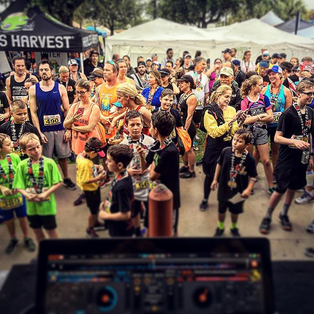 Rocked the Run From The Rays!  Thank You Boca Raton!_Much Love_#dj #runfroktherays5k #livemusic #liv