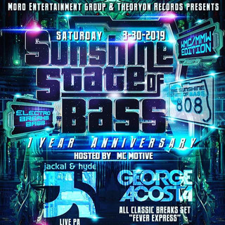 Stoked to rock Sunshine State of Bass wi
