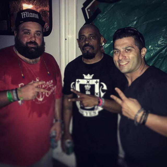 Chilling Backstage with Sen Dog from Cypress Hill _#ultramusicfestival #djsal #audiosal