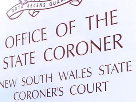 Coronial Inquest Update