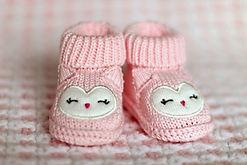 bébé chaussons