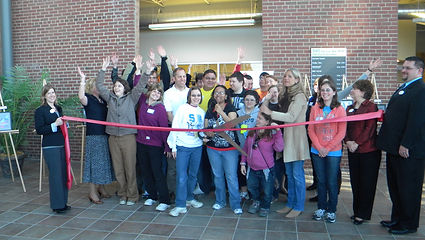 The joyful ribbon-cutting ceremony of ACT's beautiful new studio space in March 2011