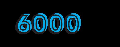 6000 individuals served