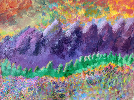 "Samantha J. Currie - ""What Dreams May Come - Purple Mountain Majesty"""