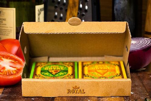 The Royal Pizza Palace Playing Card Kickstarter 2 Deck Set